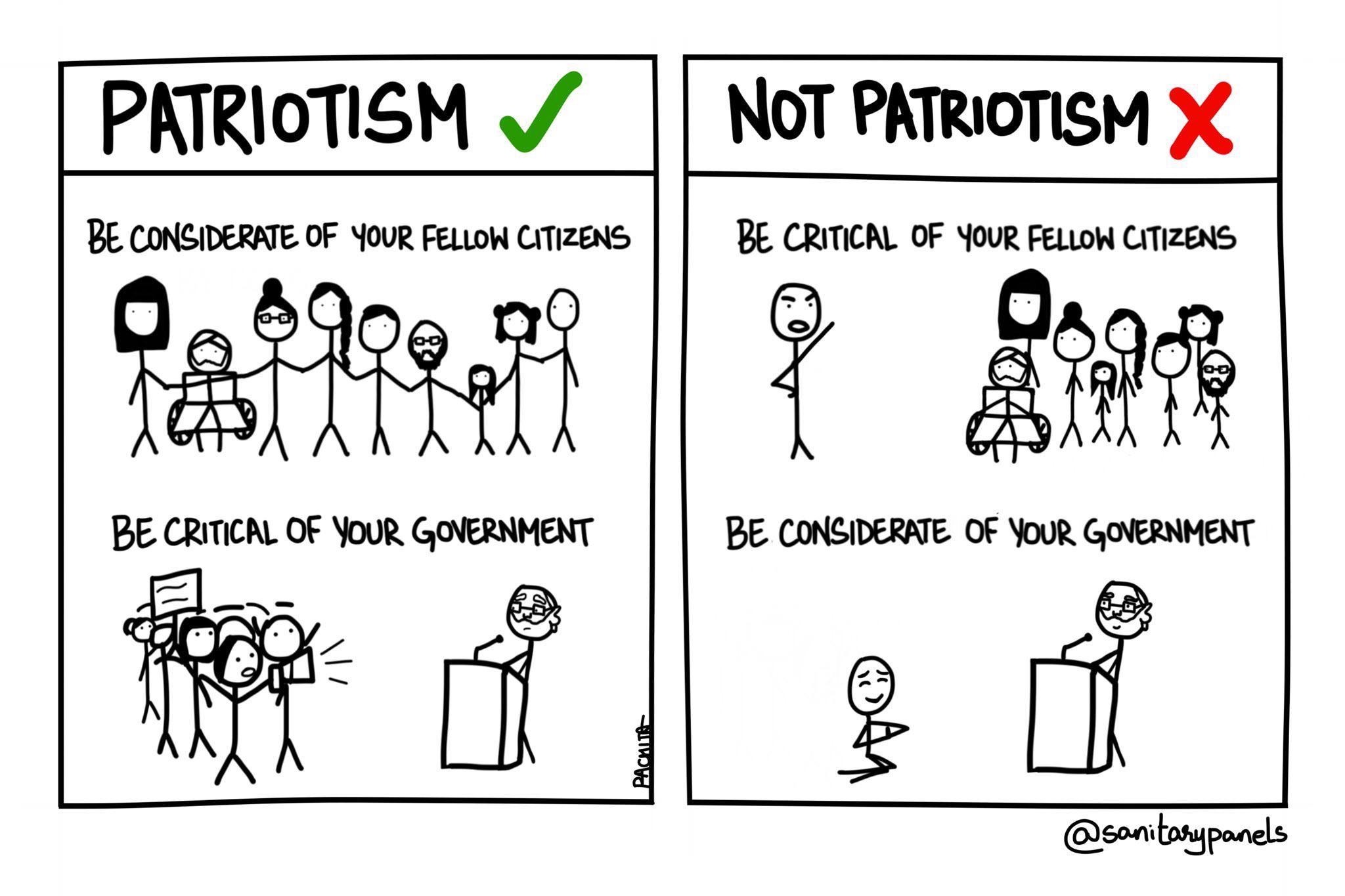 Patriotism Comic